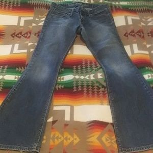 Bell bottom Levis Jeans size 3